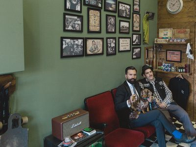 Barber Rules, a place where Rock 'n Roll meets Style