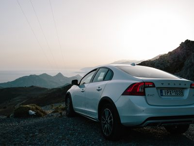 Cruising around Crete with VOLVO S60 Cross Country