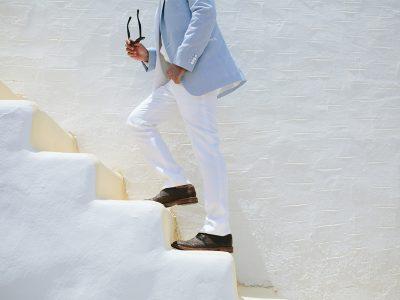Cyan & White - Eternal Greek beauty
