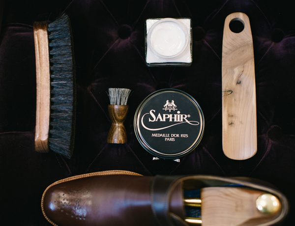 leather shoe care products