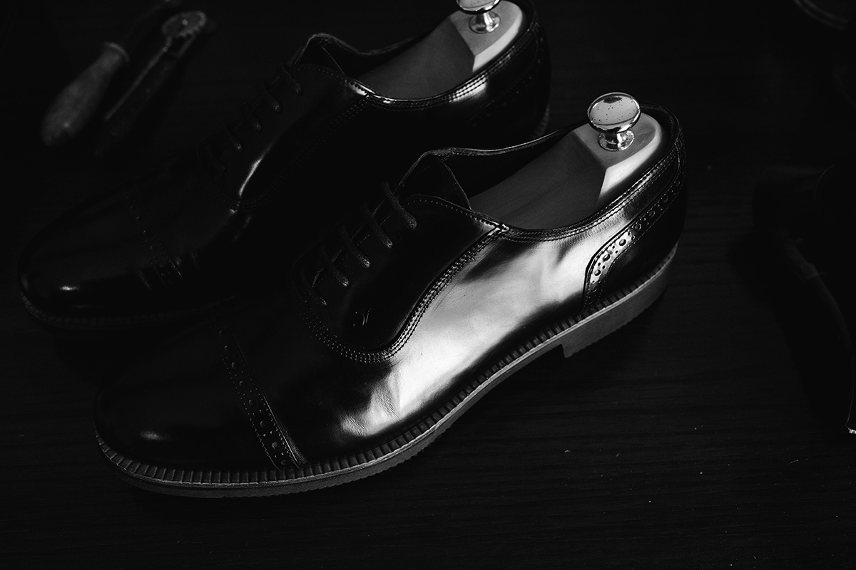 It's a MAN's Class - Cap toe Shoes