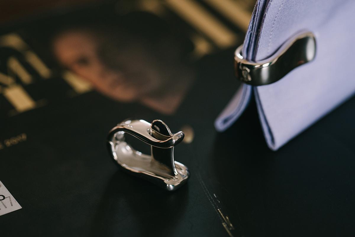 Kiss-cuff, cufflinks, Minas, Men's jewelry, men's style, dandy, Minas jewelry