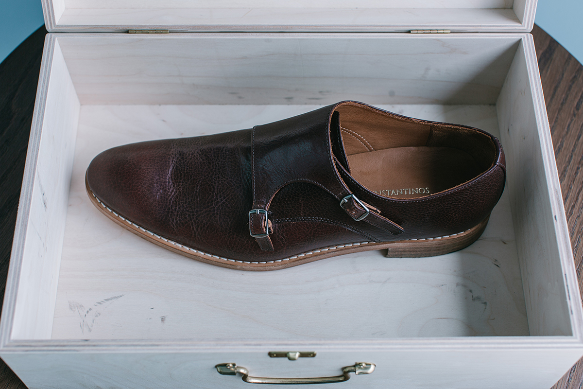 It's a MAN's Class - Monk Strap Shoes
