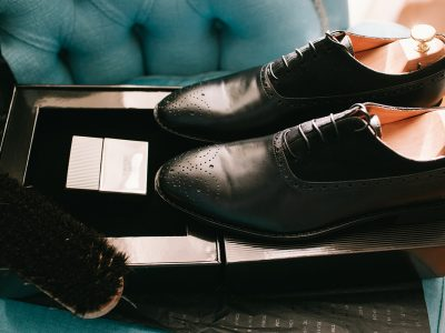 The Black Oxford Shoes