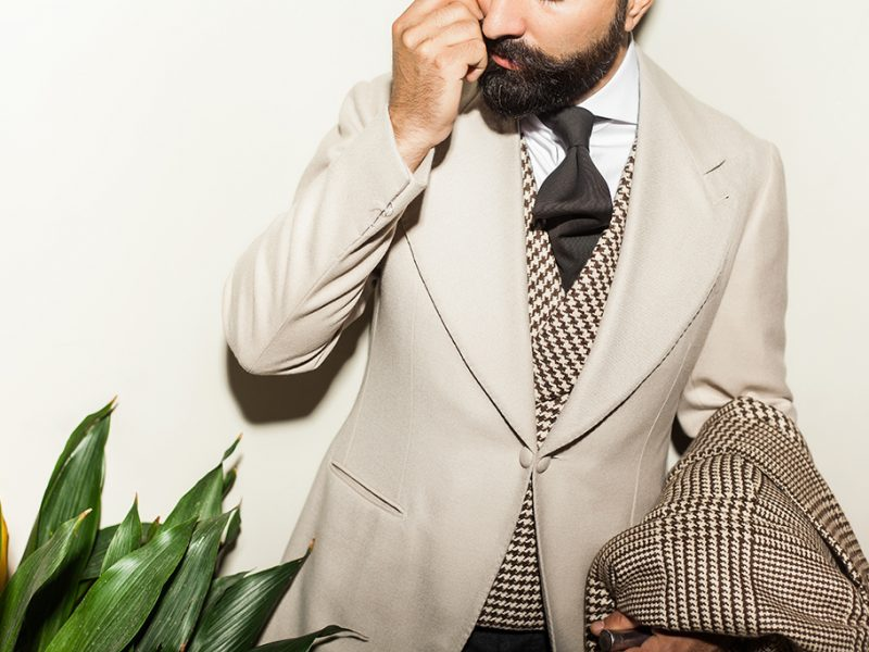 Sciamat, a whole new experience in bespoke tailoring