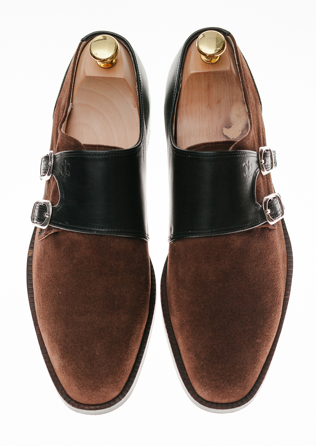 Brown Dress Shoes With Black Tie