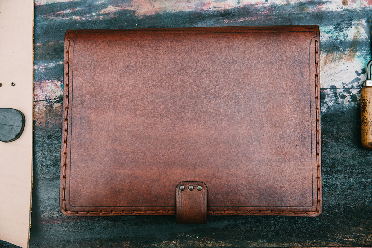 Handmade Laptop Leather Case