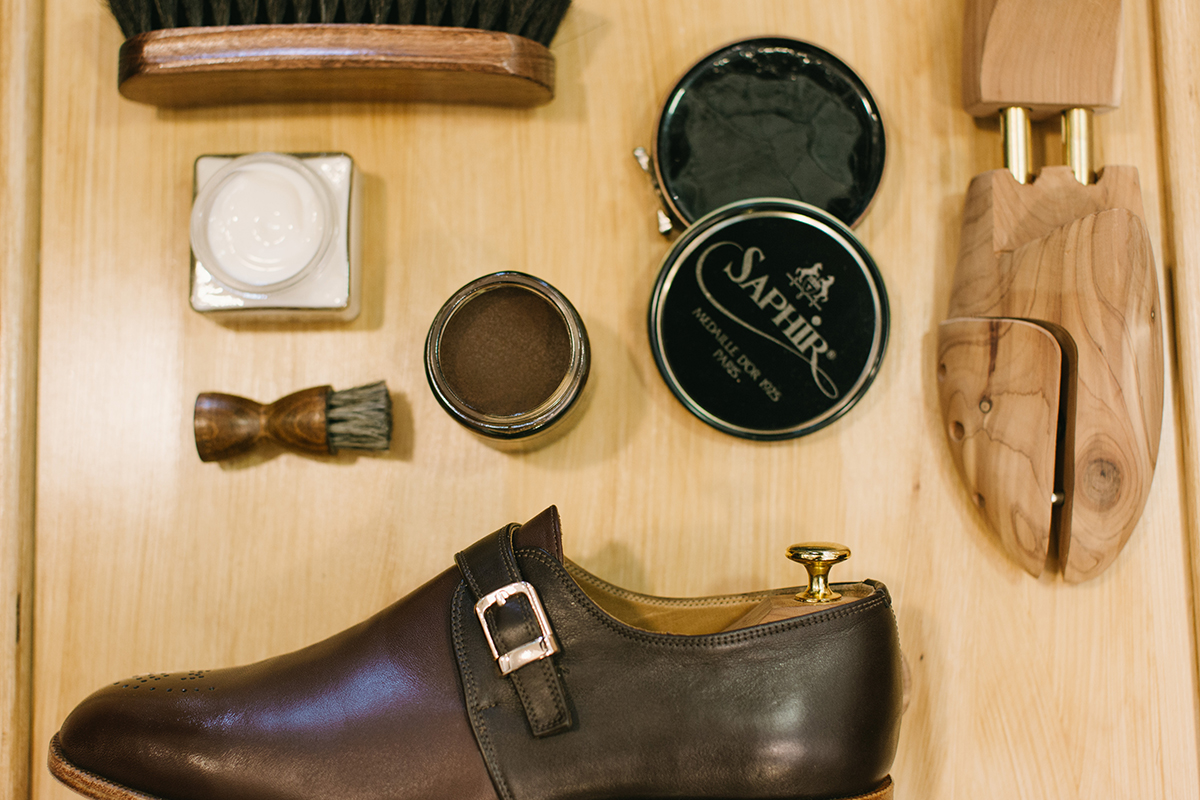 Leather Shoe Care - It's a MAN's Class