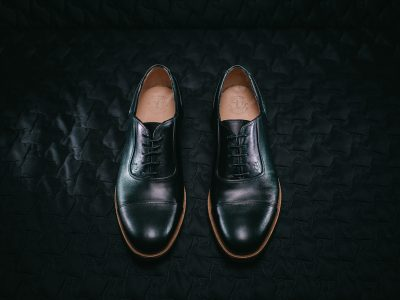 The Cap Toe Oxford Shoes