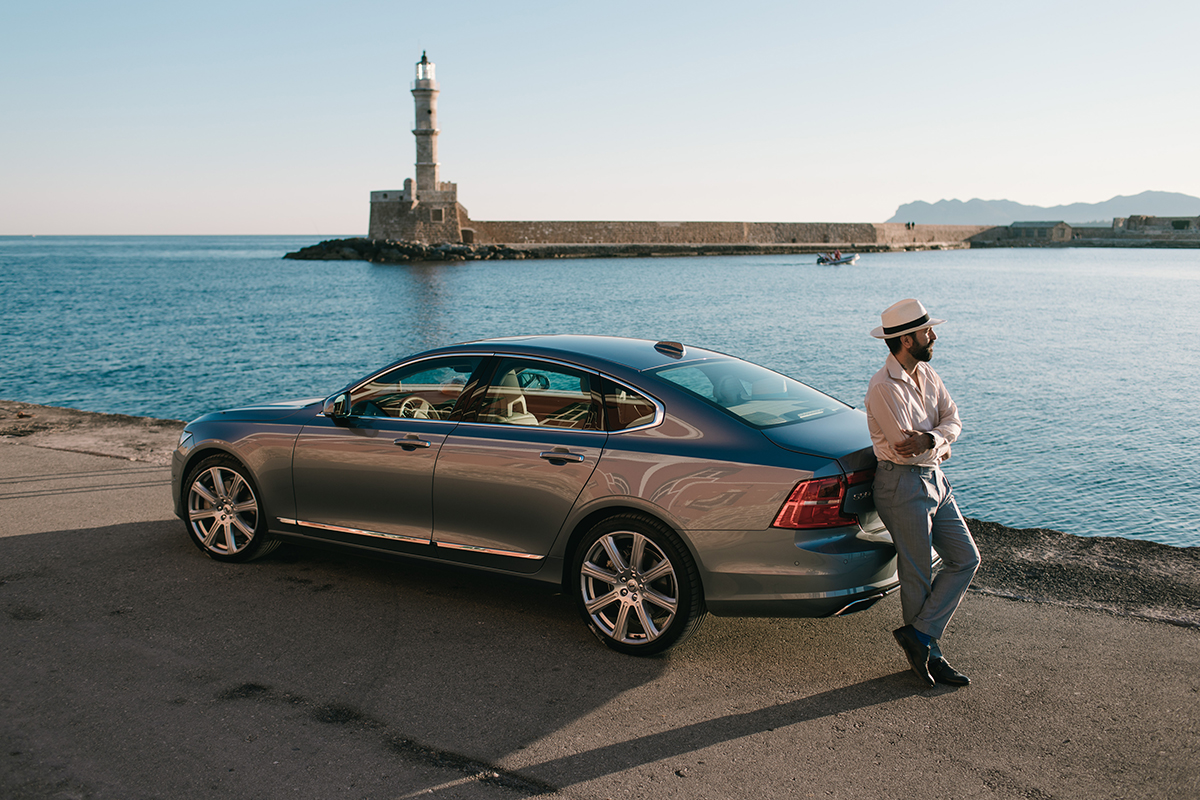 volvo s90 leight blue chania