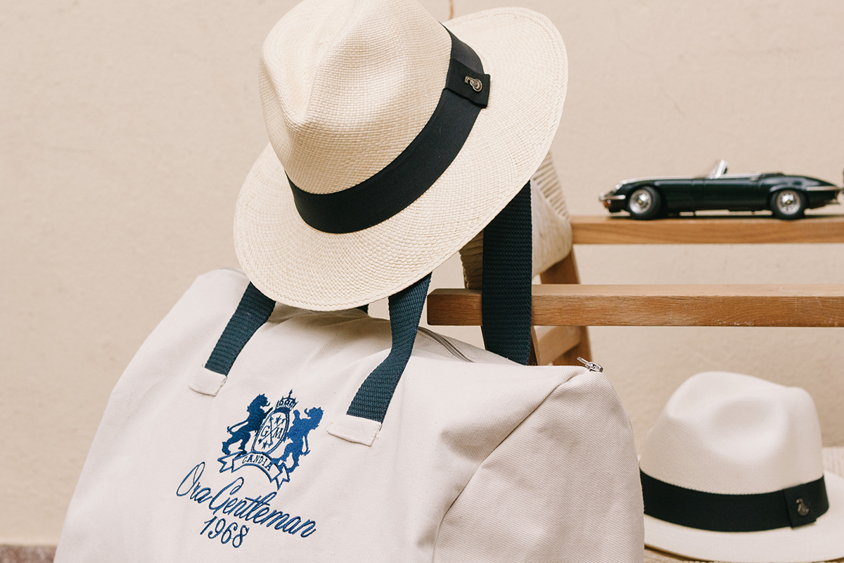 ora gentleman swimwear maltese panama hat