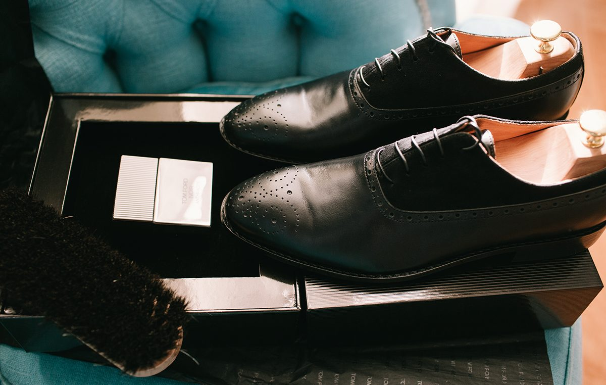 The Black Oxford Shoes  aa47ab70464