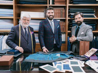 The Neapolitan Inspired Jacket by Kourlas