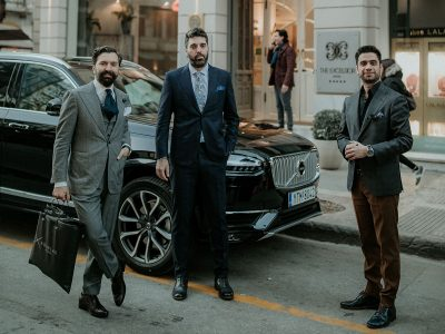 It's a MAN's Class Trunk Show in Thessaloniki powered by Volvo Greece